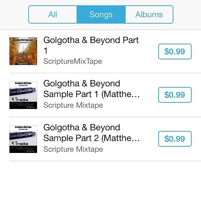 Golgotha & Beyond - Instagram